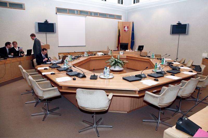 Ministrų kabineto kėdžių dalybos dar nebaigtos