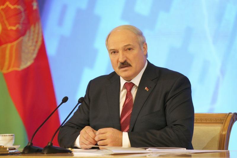 A.Lukašenka Vakarų sankcijas palygino su Antruoju pasauliniu karu