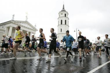 Vilniaus maratone mirė žmogus