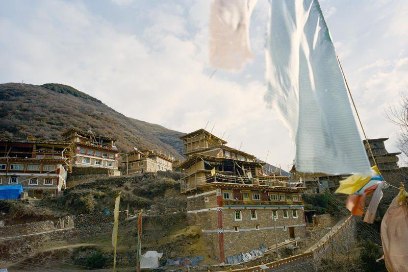 Kinijoje susidegino tibetietis – pirmasis šiais metais