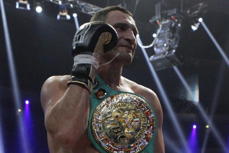 Pasaulio čempionas V. Kličko siunčia sveikinimus Lietuvai