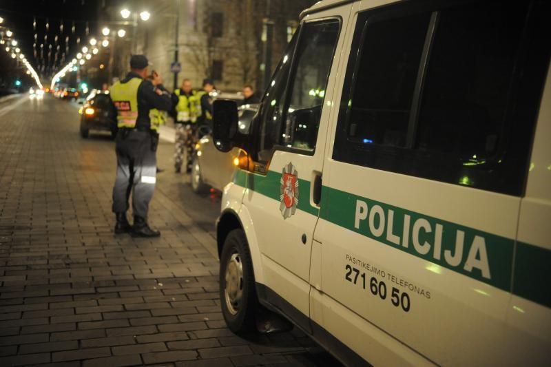 Tramdydamas mušeikas Klaipėdos policininkas nukentėjo pats