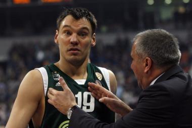 """Š.Jasikevičius palieka """"Panathinaikos"""" komandą?"""