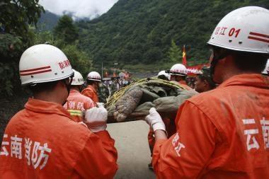 Per dujų sprogimą Kinijos šachtoje žuvo 26 žmonės