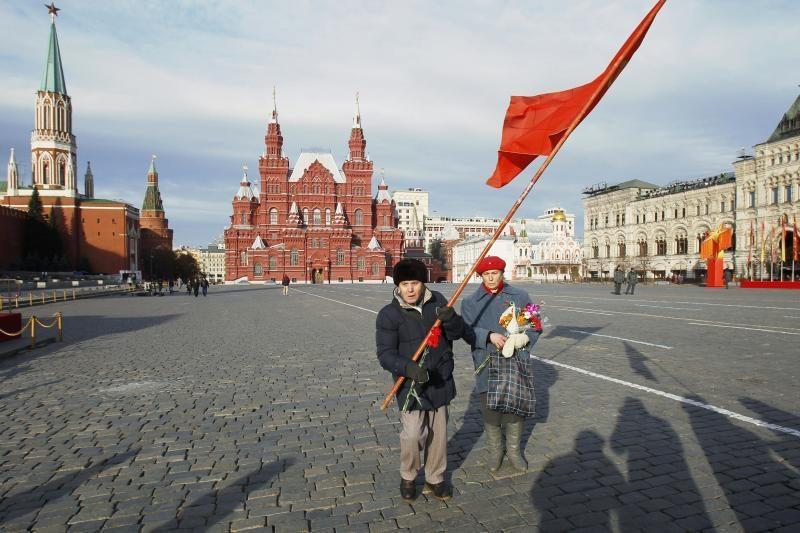 Maskvos Raudonojoje aikštėje mėgino susideginti senyvo amžiaus vyras
