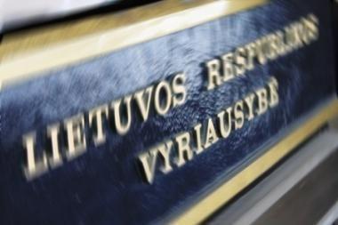 Vyriausybė nesusitarė dėl operatyvinės informacijos pateikimo valstybės pareigūnams
