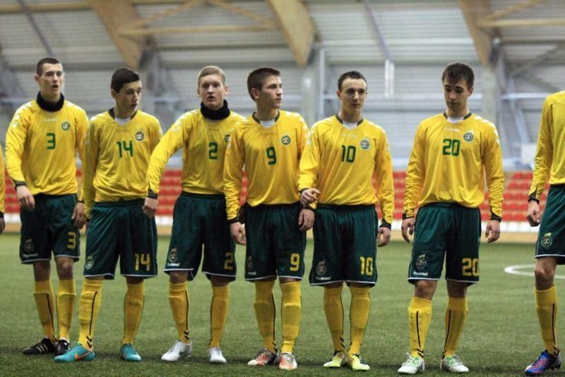 Lietuvos septyniolikmečiai futbolininkai turnyrą Minske baigė pergale
