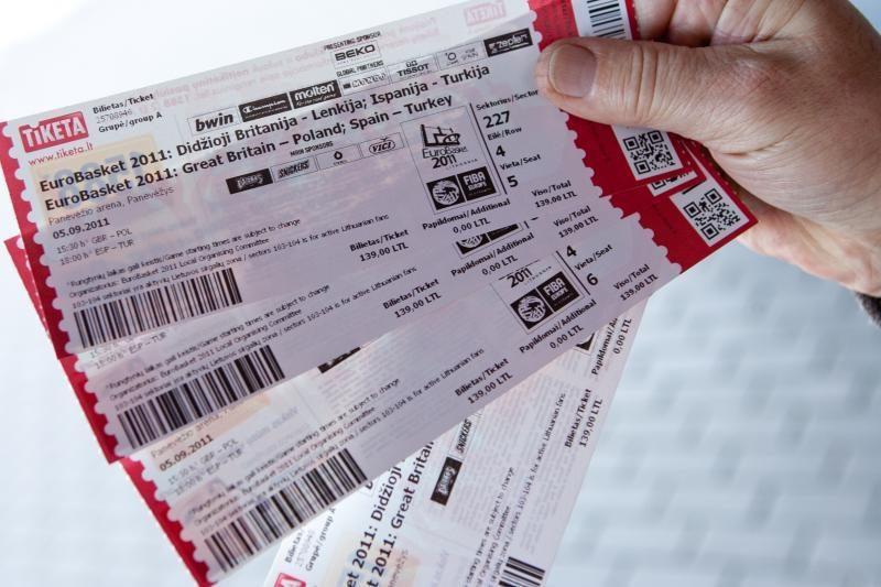 Bilietų perpardavimas internete klesti
