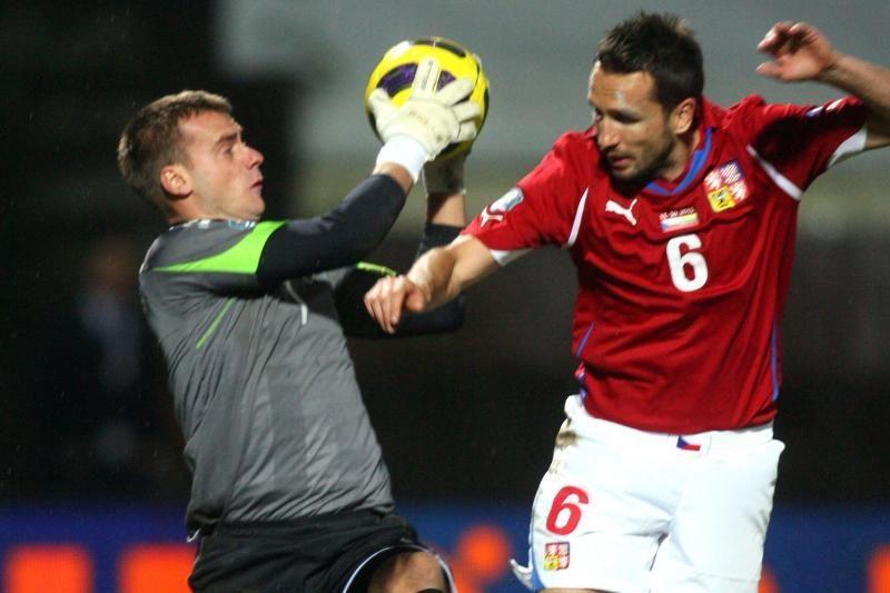 Turkijos futbolo čempionato rungtynėse Ž.Karčemarskas buvo įspėtas