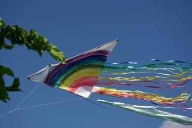 Palangoje vyksta aitvarų festivalis