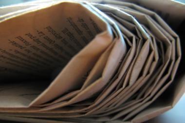 Dėl krizės Graikijos dienraštis keliasi į virtualią erdvę