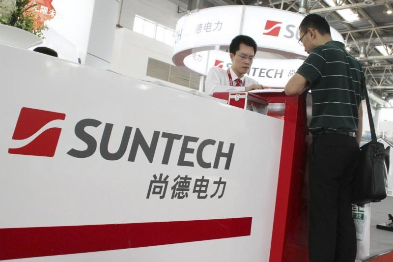 """Kinijos saulės baterijų gamybos milžinė """"Suntech"""" skelbia bankrotą"""