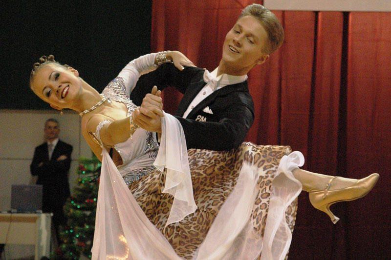 Pasaulio standartinių šokių čempionate kauniečiai užėmė devintą vietą