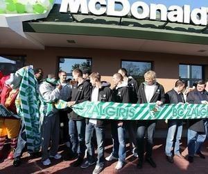 """""""McDonald's"""" restorane praūžė """"Žalgirio"""" sezono atidarymo šventė"""