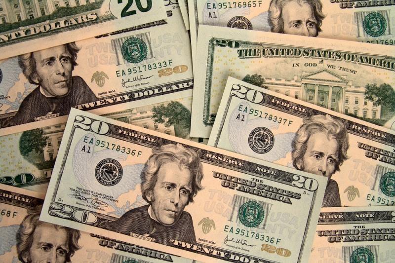 Vyriškis iš banko bandė pagrobti vieną dolerį