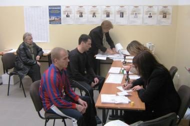 Laisvės atėmimo bausmes atliekantieji balsavo paštu