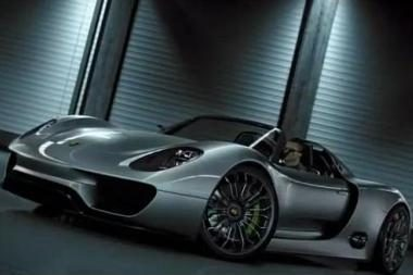 """Porsche"" ryžosi išleisti hibridinį superautomobilį ""Spyder"""