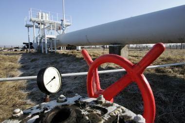 Rusija teigia atnaujinusi dujų tiekimą į Baltarusiją