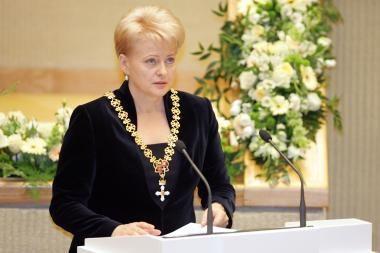 Seimas nori vertinti Prezidentės metinį pranešimą