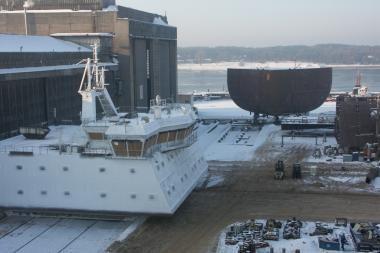 """""""Baltijos"""" laivų statykla įgyvendina penkis projektus"""