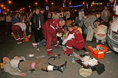 Per sprogimą Minske lietuviai nenukentėjo