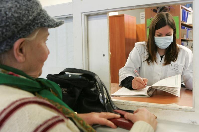Gripo epidemija paskelbta 42 savivaldybėse