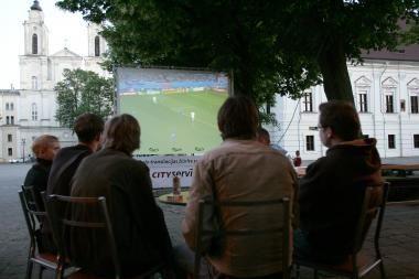Futbolo čempionatas: miestas pasirengęs