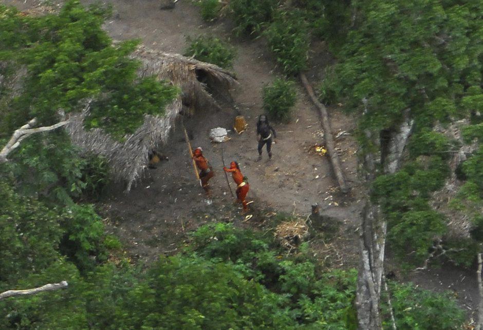 Amazonės džiunglėse rasta nematyta gentis
