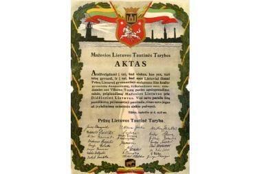 Laiko tiltu – į Mažąją Lietuvą (programa)