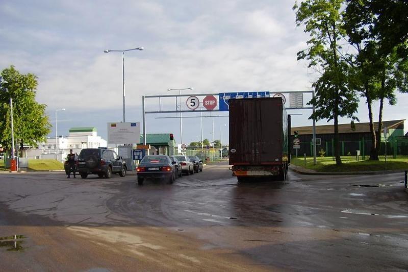 Iš Kaliningrado grįžtantis marijampolietis buvo visiškai girtas