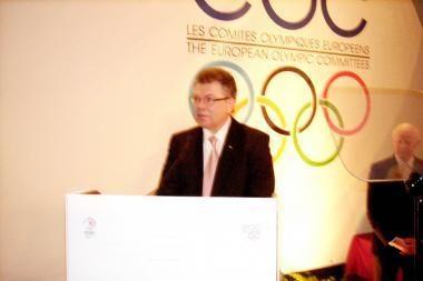 A.Poviliūnui - Europos olimpinių laurų apdovanojimas