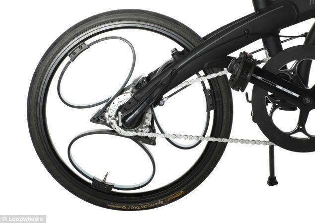 Britų inžinierius išrado spyruokliuojantį ratą
