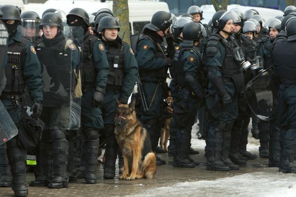 Policija: nesankcionuoto mitingo dalyviai pažeis įstatymus