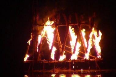 Gintaro įlankoje vyks ugnies meno akcija