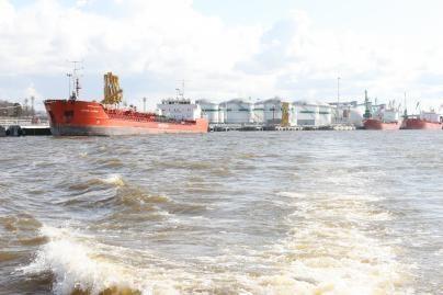 Klaipėdos uoste išsiliejo kuro