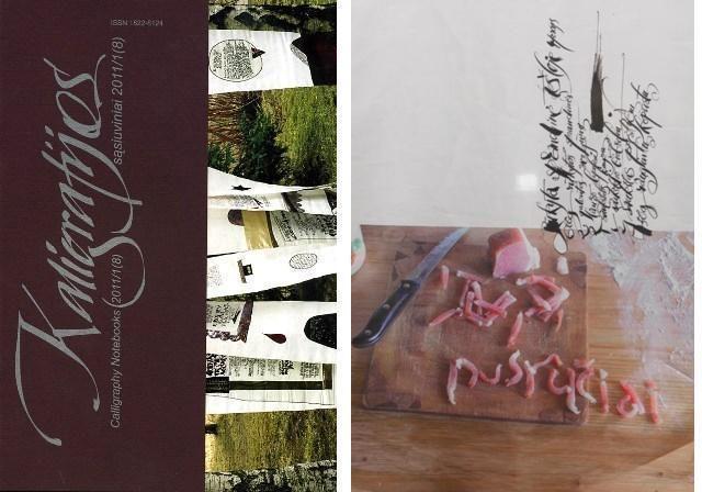 P.Domšaičio galerijoje Klaipėdoje – puota kaligrafijos gurmanams