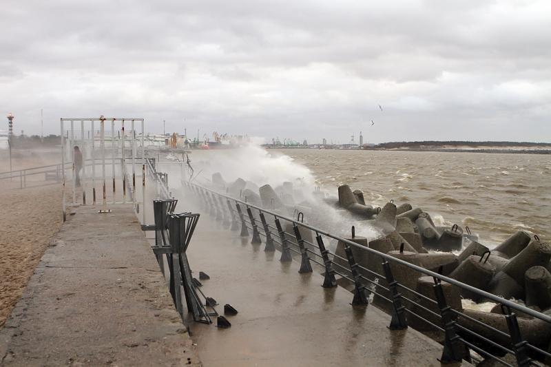 Meteorologai perspėja saugotis stipraus vėjo
