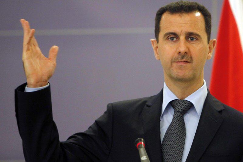 Paskelbti privatūs Sirijos prezidento laiškai
