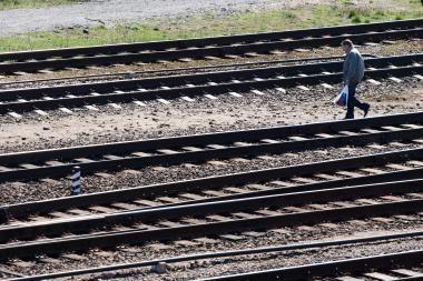 Rusijoje vėl mėginta susprogdinti traukinį