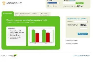Mokos.lt – elektroninis finansų patarėjas