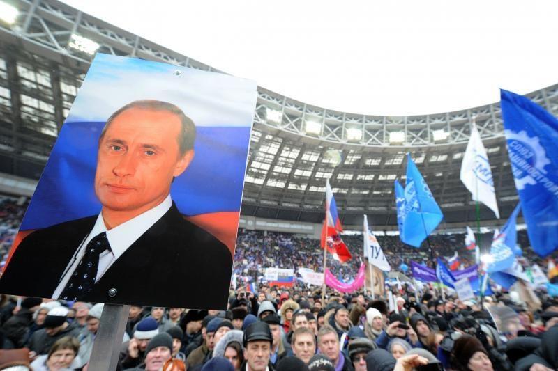 Maskva leido surengti 50 tūkst. V.Putino priešininkų mitingą