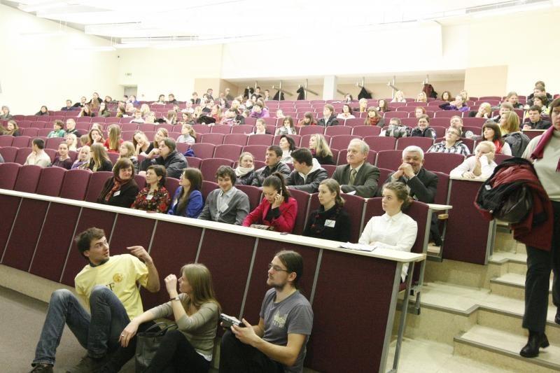 VU - jau 55-tą kartą vyks studentų mokslinė konferencija