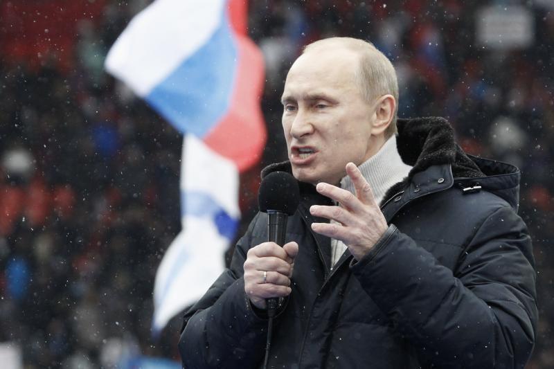 80 proc. Rusijos piliečių mano, kad V.Putinas vėl taps prezidentu