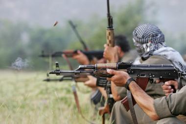 Turkai sukilėlius medžiojo kalnuose