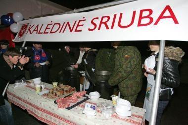 Prezidentė prisijungs prie Maltos ordino Kalėdinės sriubos