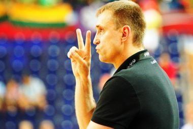 Vyrų krepšinio rinktinei keliamas tikslas - žaisti Europos čempionato finale