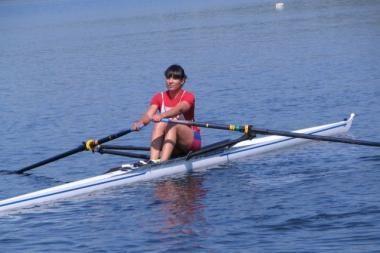 Irkluotoja D.Vištartaitė tapo pasaulio jaunimo čempione