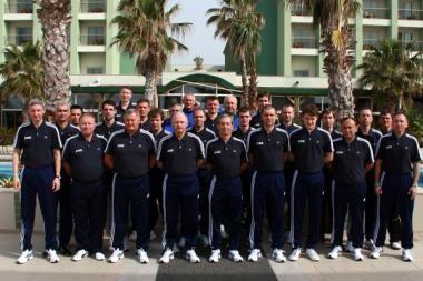 Lietuvos arbitrai Turkijoje teisėjavo 41 rungtynėms