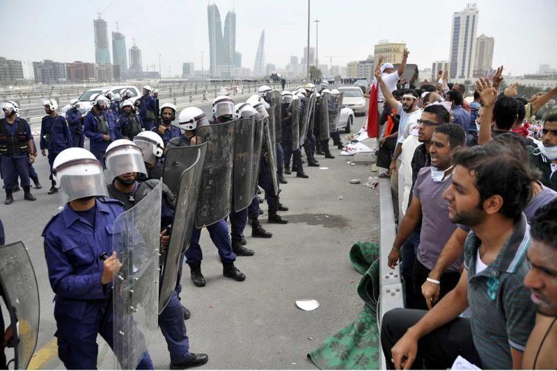 Bahreino teismas paliko galioti nuosprendžius sukilimo lyderiams