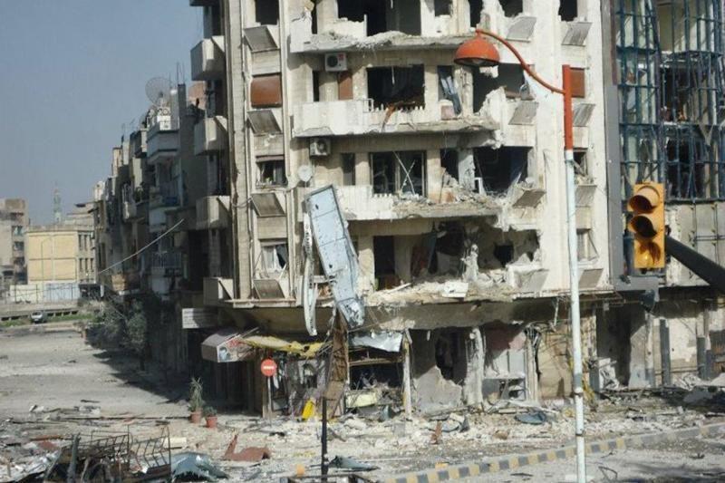 Sirijos pajėgos apšaudė Homso miestą, pažeisdamos paliaubas